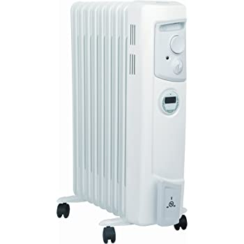 Dimplex 2 KW OFC2000Ti Electric Oil Filled Radiator Heater with Timer [Energy Class A]