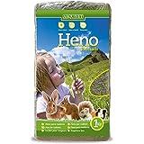 Arquivet Heno prensado para roedores y pequeños mamíferos - Hierba para roedores - Complemento alimenticio roedores - Conejos