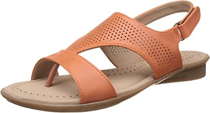 BATA Women's Perforated Concealed Fashion Sandals