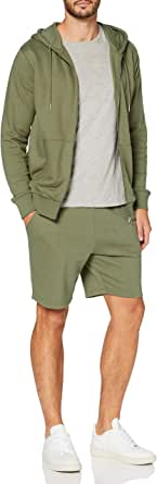 MERAKI Men's Zip Hoodie, Organic Cotton