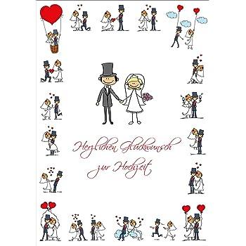 Lustige Hochzeitskarte A4 Gluckwunschkarte Hochzeit Im Xxl Din A 4