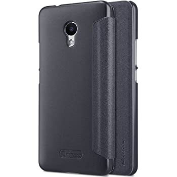 Kepuch Sparkle Meizu M5S Custodia - Alta Qualità PU Pelle Custodia Shield Custodia Case Smart Cover Per Meizu M5S - Nero