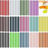 Kleur Lijm Sticks voor Kids Gekleurde Hot Melt Lijm Sticks Lijm Sticks voor Mini Lijm Gun 84 Pack Gekleurde Mini Lijm Sticks