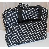 Nähmaschinen Tasche (schwarz/weiß gepunktet)