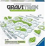 Ravensburger GraviTrax Erweiterung Tunnel - Ideales Zubehör für spektakuläre Kugelbahnen, Konstruktionsspielzeug für…
