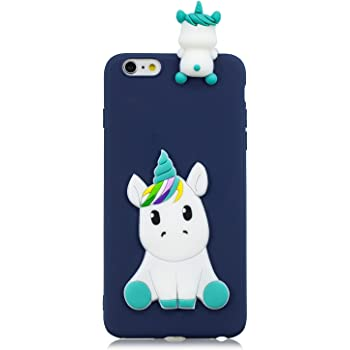 FNBK iPhone 6s Phone Cover Soft Silicone Rubber Cute Cartoon White Panda Design iPhone 6 Protective Back Cover for Men