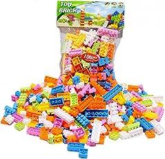 Tomtopp 144pcs Plastic Building Blocks Bricks Children Kids Educational Puzzle Toy