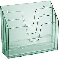 Acrimet Horizontal Trieur Organisateur de Document A4 (Plastique) (Couleur Vert Transparent)