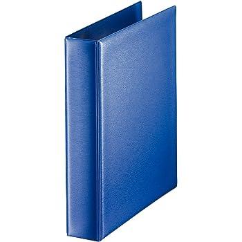 50 Blatt liniert 120g//m² Ringbuch A-Z Register 4-Loch-Metall-Ringmechanik