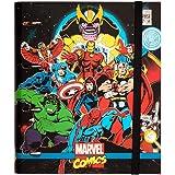 Erik - Classeur A4 4 Anneaux - Marvel Les Avengers   Classeur Rigide   Fournitures Scolaires, Fournitures de Bureau