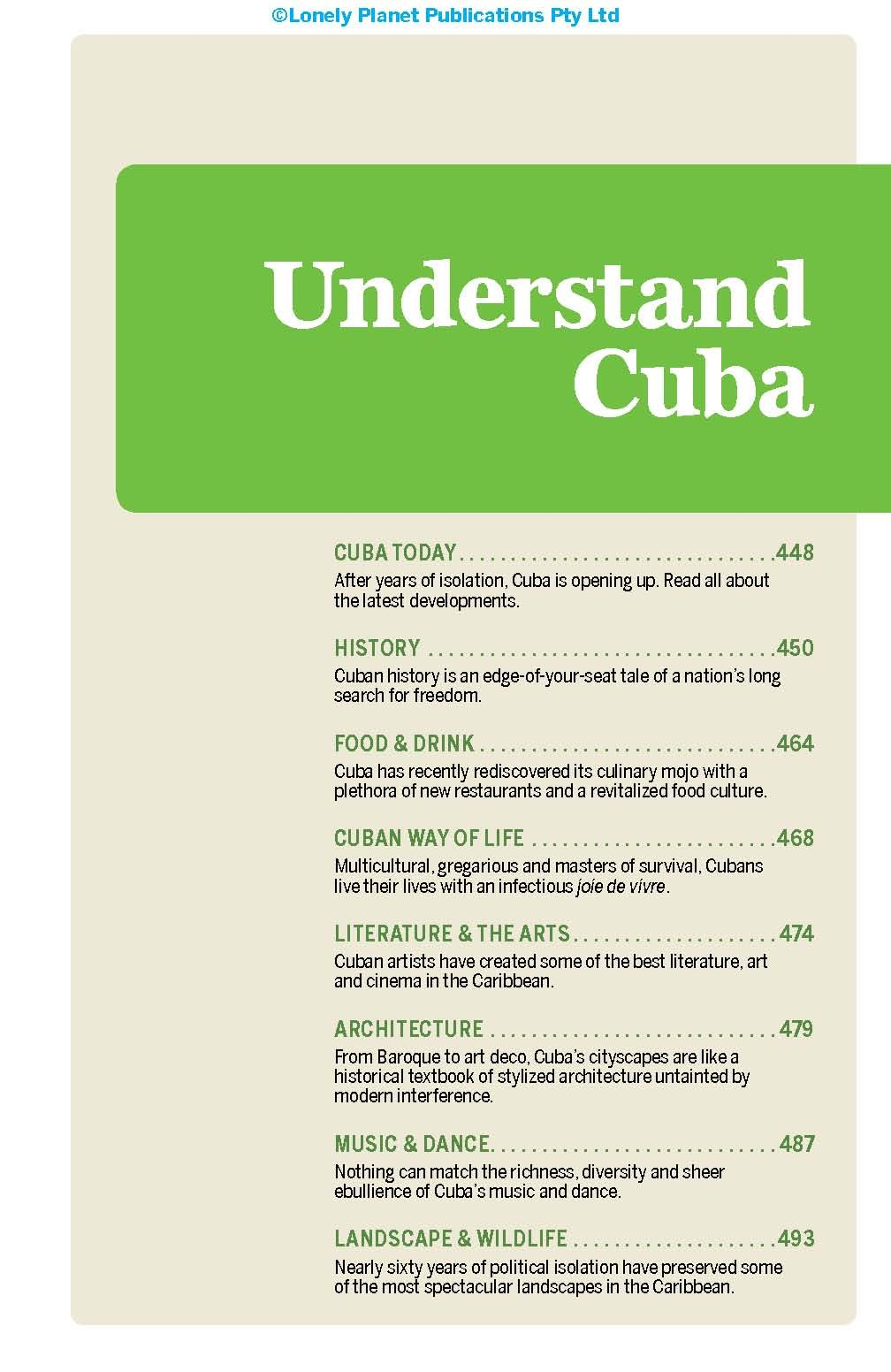 Lonely Planet Cuba (Travel Guide) 6