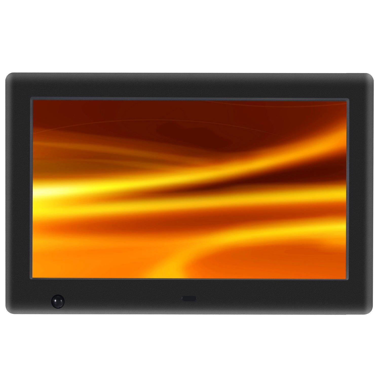 Apzka 7 Zoll HD Digitaler Bilderrahmen MP3- und Video-Wiedergabe mit ...