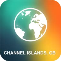 Channel Islands, GB Karte