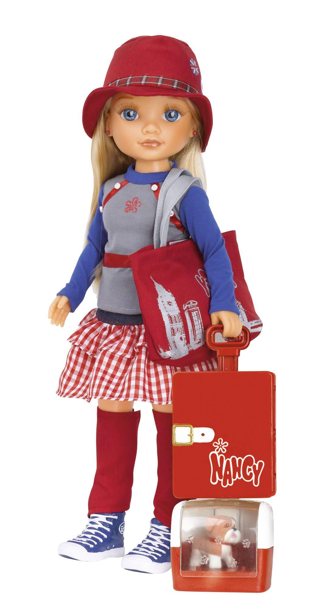Nancy – Aventuras por el Mundo: muñeca con temática de Londres (Famosa 700011013)