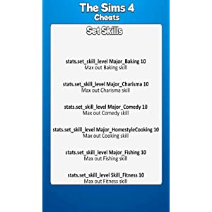 All Sims 4 Cheat Codes: Amazon co uk: Appstore for Android