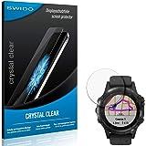SWIDO Schutzfolie für Garmin Fenix 5 Plus [2 Stück] Kristall-Klar, Hoher Härtegrad, Schutz vor Öl, Staub und Kratzer…