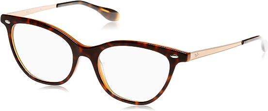 Ray-Ban Damen Brillengestell RX5360, Schwarz (Negro), 52