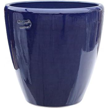 pot de fleur bleu 30 x 30 cm avec trou de drainage. Black Bedroom Furniture Sets. Home Design Ideas