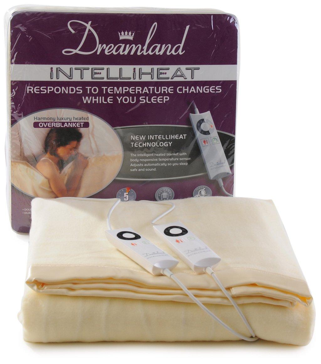 Dreamland Intelliheat Harmony King Size Heated Over Blanket with Dual  Control: Amazon.co.uk: Kitchen & Home