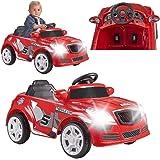 FEBER - Twinkle Car 12V R/C, coche eléctrico de 1 plaza, radiocontrol, 45 min de batería y detalles de coches: faros con luz,
