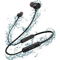 Bluetooth Kopfhörer Sport in Ear, YATWIN Bluetooth 5,0 Sportkopfhörer mit 15 Std HiFi Sound IPX7, Magnetisches und…