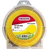 Oregon 69-387-Y Gele maaidraad met ronde doorsnede, 4,5 mm, 75 meter spoel