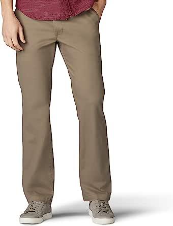 Lee Men's Performance Series Extreme Comfort Khaki Pant Straight Fit