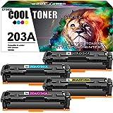 Cool Toner Cartuccia toner Compatibile In sostituzione di HP 203A CF540A CF541A CF542A CF543A Color Laserjet Pro MFP M281fdw