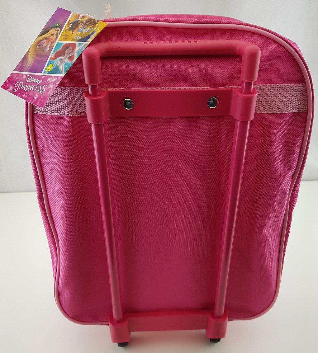 Disney-Princess-Koffer-Trolley-Kinderkoffer-Reisekoffer-Princess-Handgepck-pink