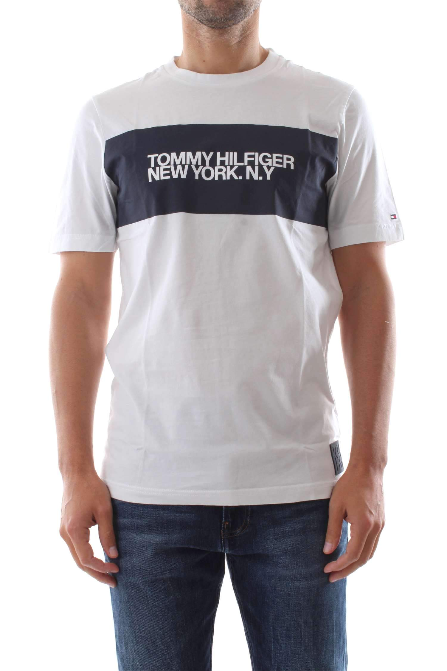 Tommy Hilfiger Big Scale Relaxed Fit tee Camiseta para Hombre
