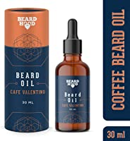Beardhood Beard Growth Oil For Men - Café Valentino, 30ml