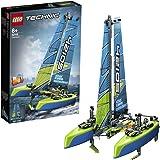 LEGO 42105 Technic LeCatamaran - Bateau Flottant pour Les Enfants et Les Fans de Voile