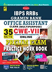 KIRAN'S IBPS RRBS GRAMIN BANK OFFICE ASSISTANT CLERK CWE VII PRELIMINARY EXAM PRACTICE WORK BOOK ENGLISH