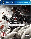 Sony, Ghost of Tsushima sur PS4, Jeu d'action et d'aventure, Édition Spéciale, Version physique, En français, 1 joueur…