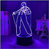3D LED Night Light Harry Styles Lampada Regalo per I Fan Arredamento Camera da Letto Luce LED Touch Sensor Cambia Colore Lamp