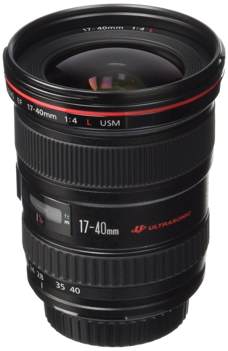 Canon EF 17-40mm f/4.0L USM - camera lenses (12/9, 17 - 40 mm, USM, Black)