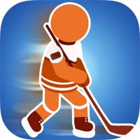 Sticked Man Eishockey