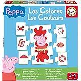 Educa-Los Colores Peppa Pig Juego Educativo para Bebés, Multicolor (16225)