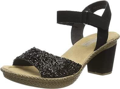 Rieker Damen 61695 00 Geschlossene Sandalen