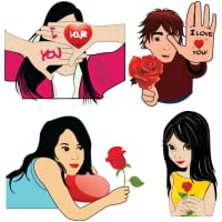 Loveria - Love Stickers For Whatsapp, Facebook