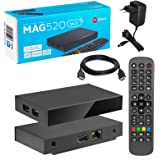 MAG 520w3 Original Infomir & HB-DIGITAL 4K IPTV Set TOP Box Multimedia Player Internet TV IP Receiver # 4K UHD 60FPS 2160p @6