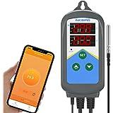 Inkbird Regulateur de Temperature,Prise Thermostat Chauffage WiFi Jour Nuit,Contrôleur Température Reptiles avec Sonde,2…