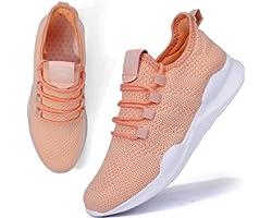 BUBUDENG Women's Trainers Casual Sneakers Walking Gym Sport Running Shoes Lightweight Tennis Shoes