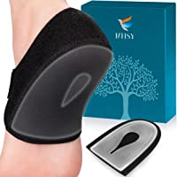 MHSY - 2 protezioni per tallone in gel per tendinite d'Achille, tendinite ossea e piedi doloranti per alleviare il…