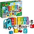 LEGO 10915 Duplo My First Le Camion des Lettres, Jouet Éducatif pour Bébé De 1 an et Demi, Briques d'apprentissage Alphabet E