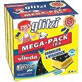 Vileda Glitzi Plus Topreiniger, met antibac-effect tegen bacteriën, absorberend (18 stuks)