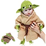 SDYAYFGE Baby Newborn Infant Boy Girl Hand-Knitted Sweaters Infant Clothes Baby Photography Prop Halloween Costume Cosplay fo