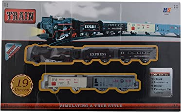 Kids_Bazar Express Train and Track Set (Black, Kids_ Bazar 28)