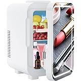 Mini réfrigérateur 8L, mini réfrigérateur silencieux 12V/220V, avec fonction de refroidissement et de chauffage, adapté à la