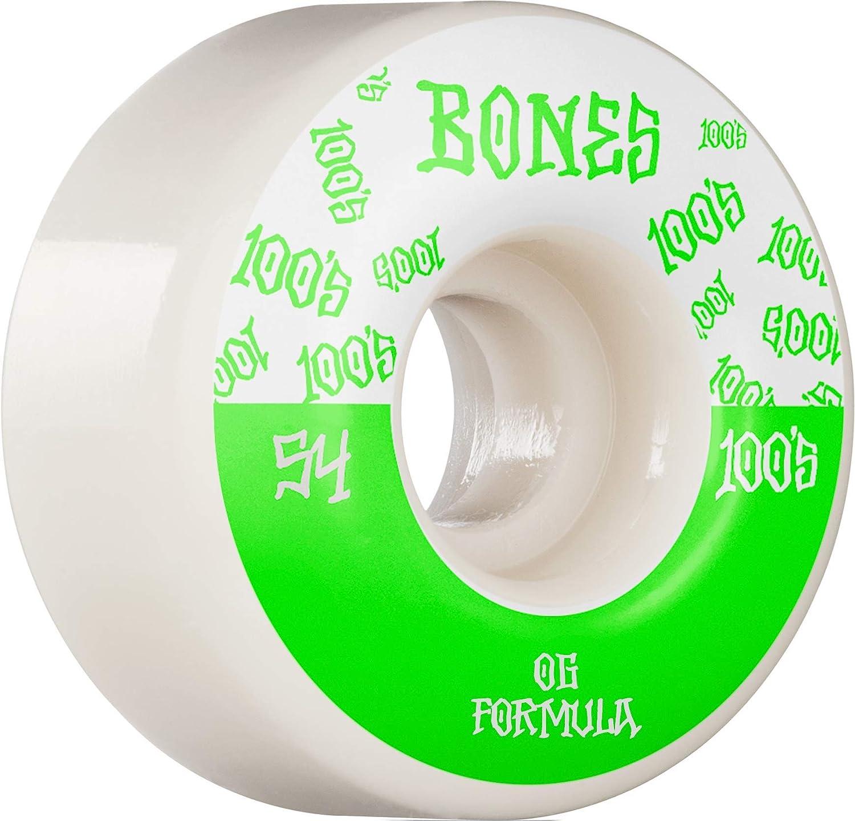 Bones Wheels 100's  V4 Wide 54mm